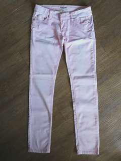 Baby Pink Skinny Jeans