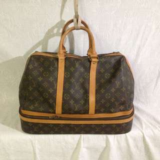 Louis Vuitton luggage vintage sport sac duffel bag