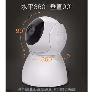 HK$338/1PC ~ 全新1080P HD IP CAM 日夜高清無線WIFI攝像頭, 監察寵物BB工人長者商舖合用