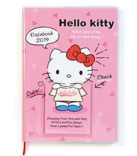 """🎉FREE STICKER ends 19/8!🎉🔴26% OFF ($29.90)➡️ FOLLOWERS ONLY!🔴🚫Non Followers Buy at $29.90🚫🌻AUTHENTIC BRAND NEW🌻💖SANRIO ORIGINAL Hello Kitty """"Change Clothes"""" Organiser Planner Book💋No pet No smoker Clean Hse💋"""