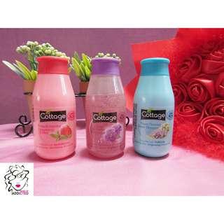 Cottage Shower Gel 50ml (3 items)