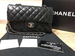 Chanel Classic Small Lambskin Shoulder Double Flap Bag