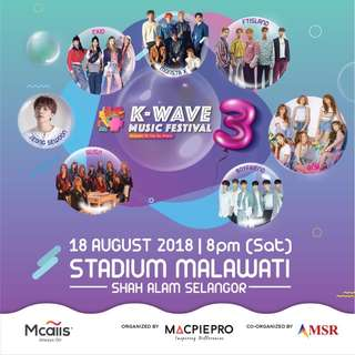 WTS Kwave 3 music festival Longtv Zone M tickets