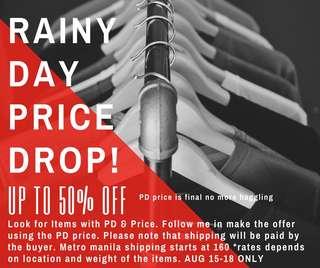 Rainy day price drop!