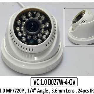 Smart Watch Dome Type CCTV Camera 1.0mp