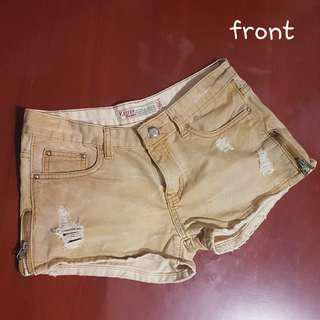 Brown Shorts for Ladies
