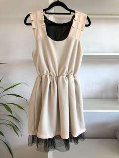 BRAND NEW Cute Cream Dress