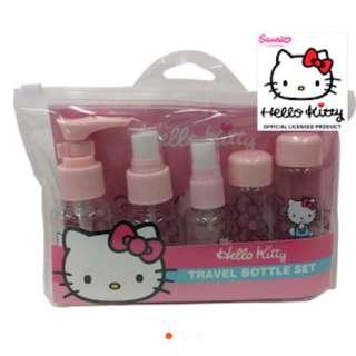 Hello Kitty Travel Bottle Set