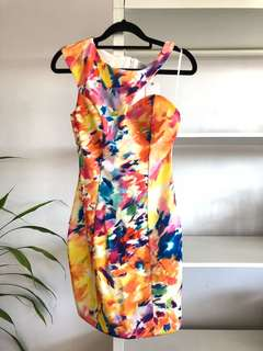 BRAND NEW Asymmetric Party Dress