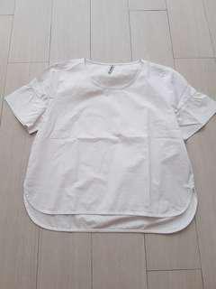 Stradivarius white blouse