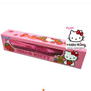 Hello Kitty Toothpaste and Toothbrush