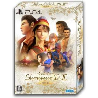 (預訂) PS4 莎木 I& II (日本限定版) - Shenmue Shanmue 1+2 經典名作