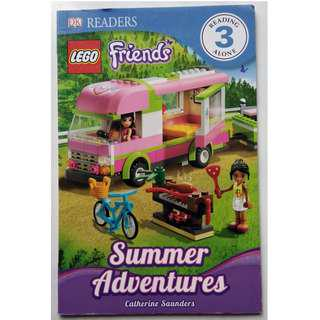 Preloved Reading Book - Lego Friends Summer Adventures