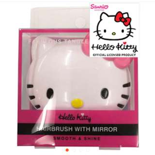 Hello Kitty Hairbrush with Miror