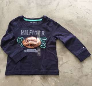 BNWT Authentic Tommy Hilfiger Long Sleeve Tee 2T