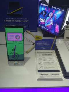 Samsung NOTE9 bisa di cicil sistim PO persyarat mudah