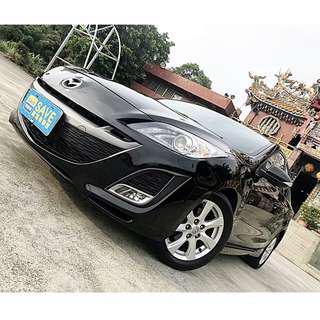 2010年 馬自達 MAZDA3 4D 2.0L 黑 一手車 資料齊全 車況極佳 可認證 全車無待修 全車功能正常~