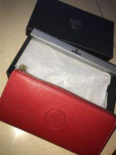 Authentic Cellini red wallet