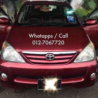 Car rental for Johor & Malaysia side