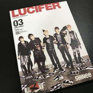SHINee Lucifer 03 CD+DVD