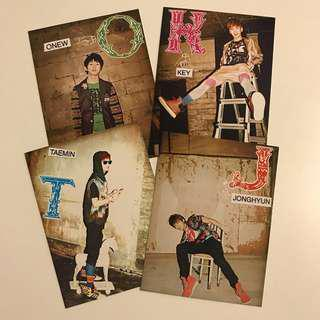 SHINee Replay Album Photocards