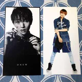 SHINee Onew Official Giant Postcard