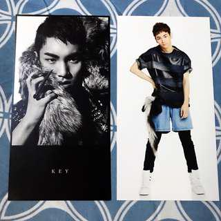 SHINee Key Official Giant Postcard