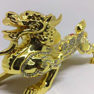 Dragon gold plated