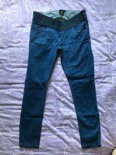 ASOS - maternity blue jeans