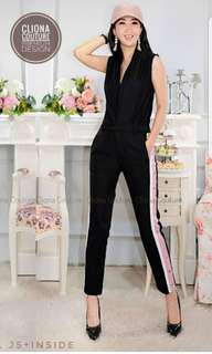 Jumpsuit G*CCI Samping Buttons