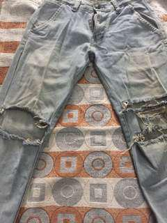 ripped jeans condition 75%