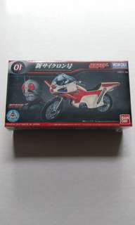 Bandai Mecha Collection Kamen Rider Series New Cyclone 01