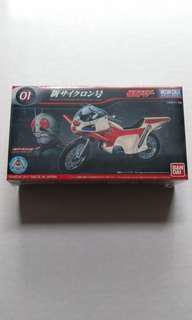 Bandai Mecha Collection Kamen Rider Series New Cyclone 01
