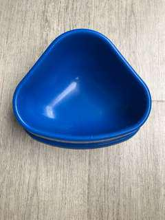 Pellet food hay feeder bowl for small pets rabbit chinchilla hamster guinea pigs