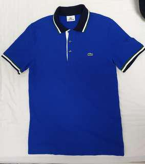Authentic Lacoste Polo Shirt for Men- Slim fit type