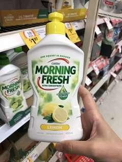 澳洲Morning Fresh濃縮洗潔精 原味/檸檬