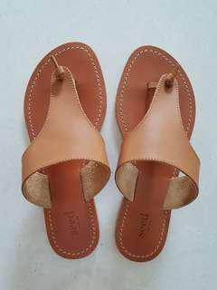 🚚 Reduced: Seed Heritage Sandals in Tan, Size 36