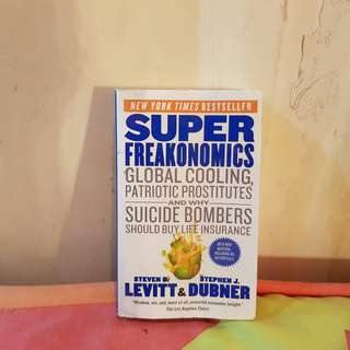 Super Freakonomics By Steven Levitt