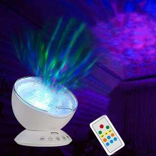 Sea Reflection™ - Ocean Wave Night Light Projector
