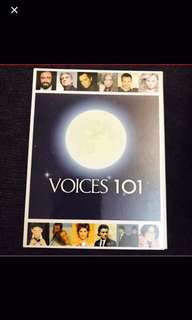 6 music CDs : voices 101 old English song
