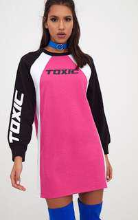 Toxic jumper dress