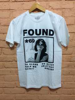 Pleasures Found Tee White