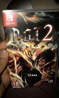 Attack On Titans 2 (Switch)
