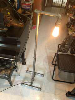 Vintage / industrial floor lamp standing lamp (143cm)
