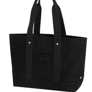Original Coach Black Handbag