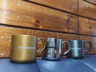 🚚 星巴客不鏽鋼把手杯 Starbucks