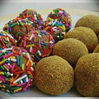 Chocolate and Grahamballs