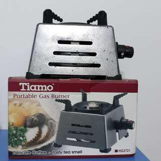 🚚 Tiamo登山爐,戶外爐,填充式爐,瓦斯爐,方便,烤肉必備,露營烤肉,現貨,便宜出清,卡式爐,好用,破盤價,中秋烤肉