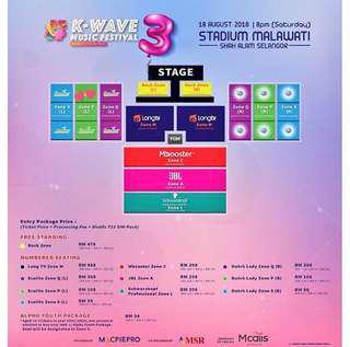 Kwave3 ticket