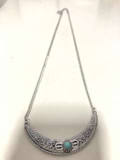 🚚 Silver Statement Necklace